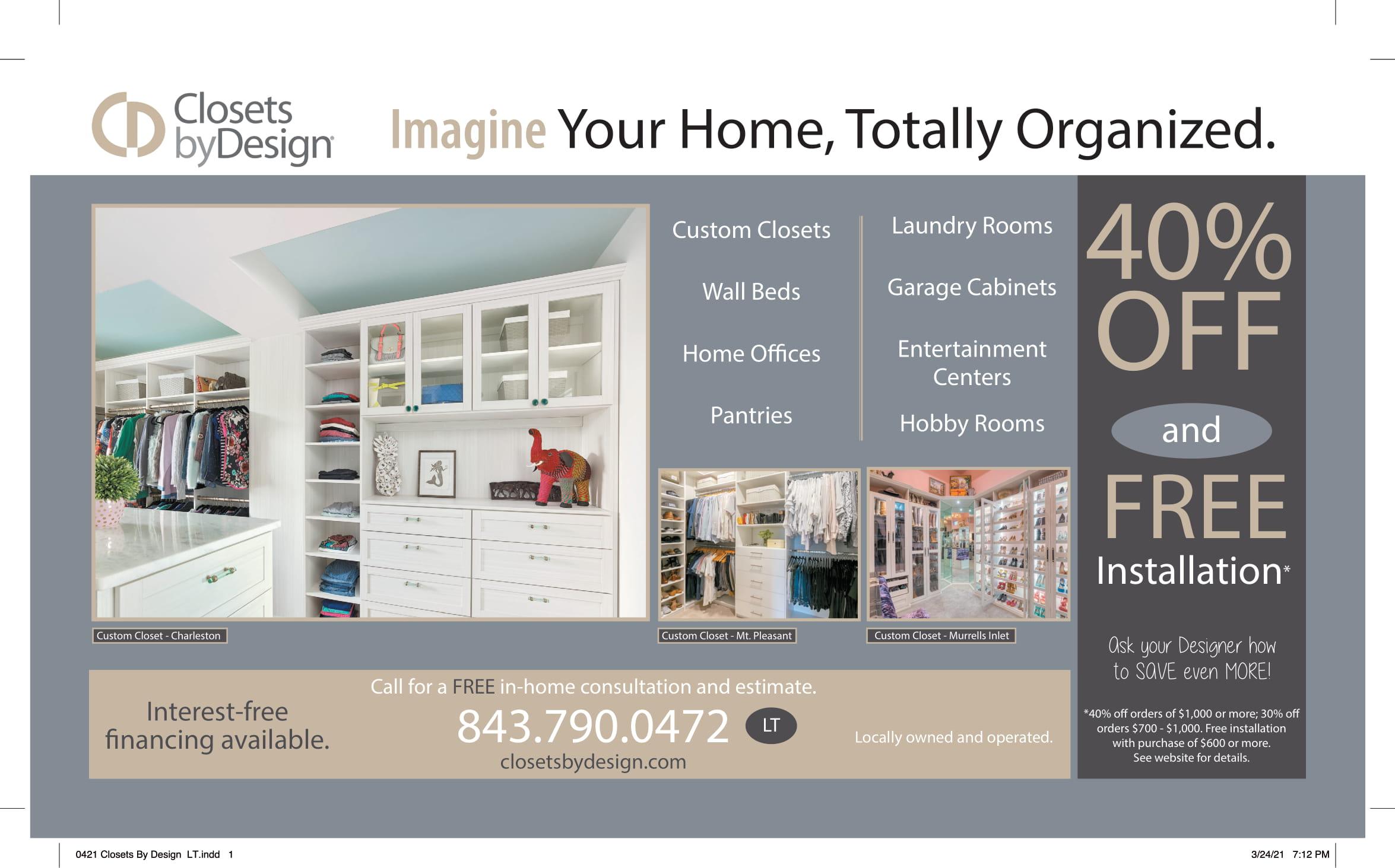 0421 Closets By Design LT 1