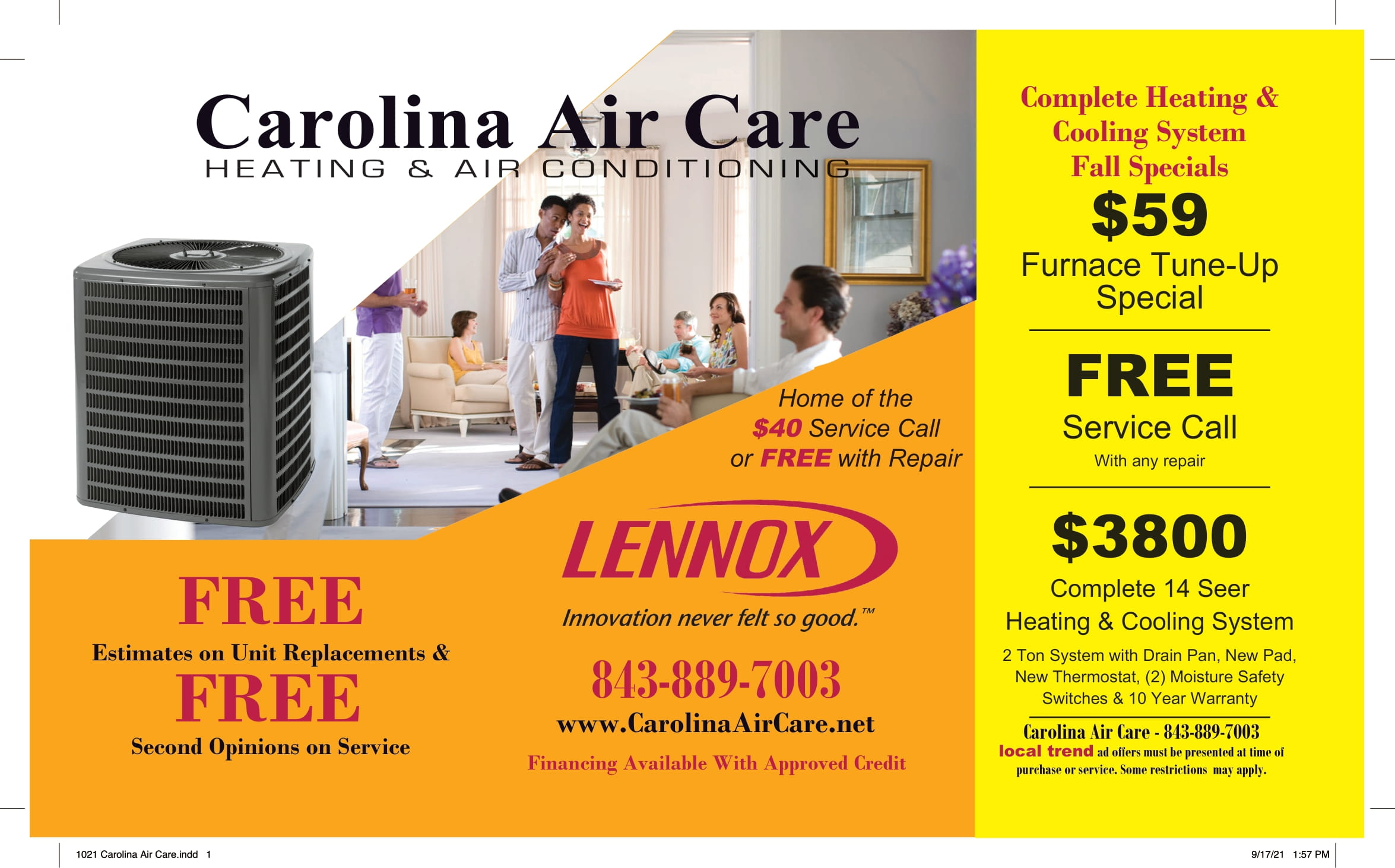 1021 Carolina Air Care 1