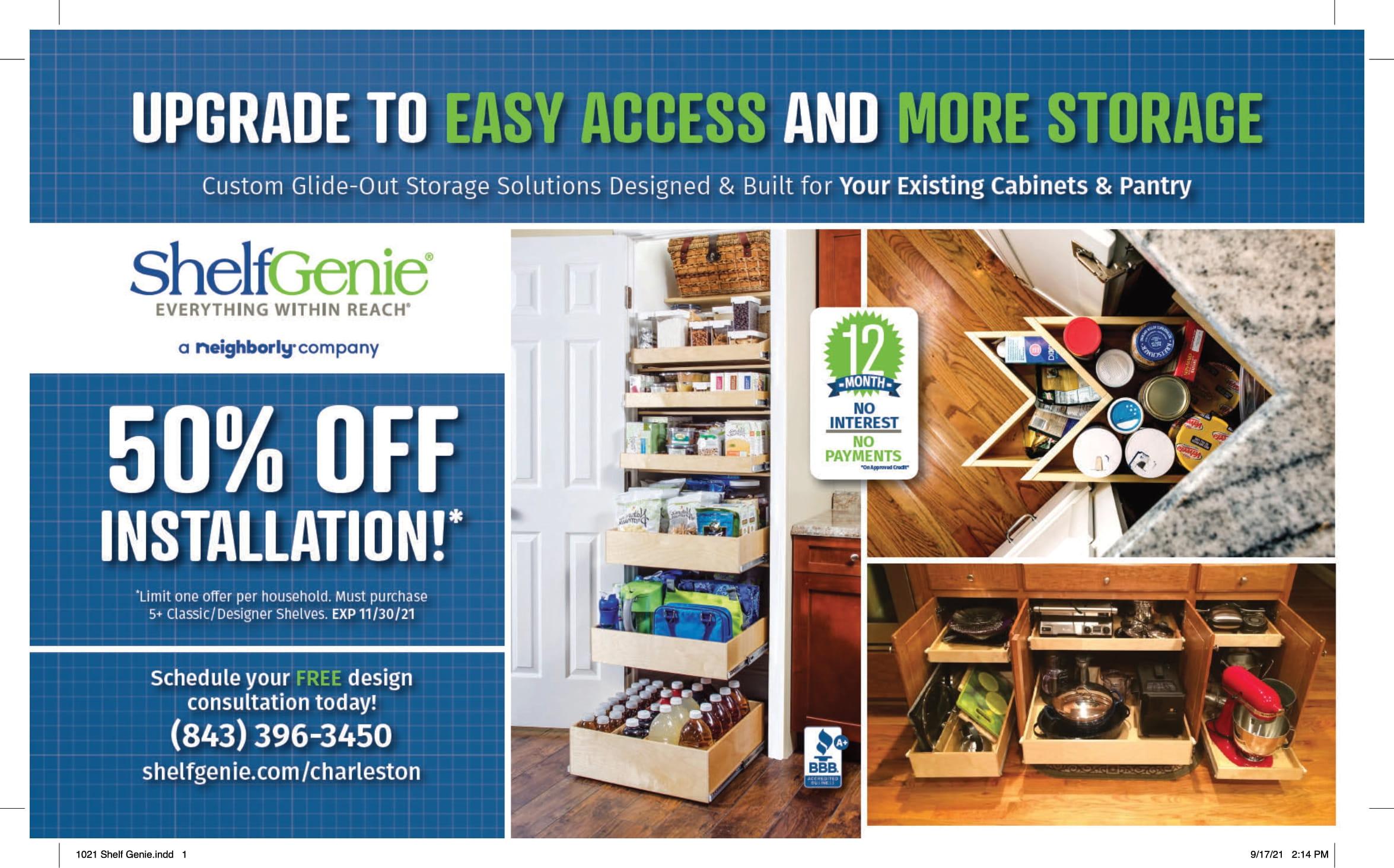 1021 Shelf Genie 1