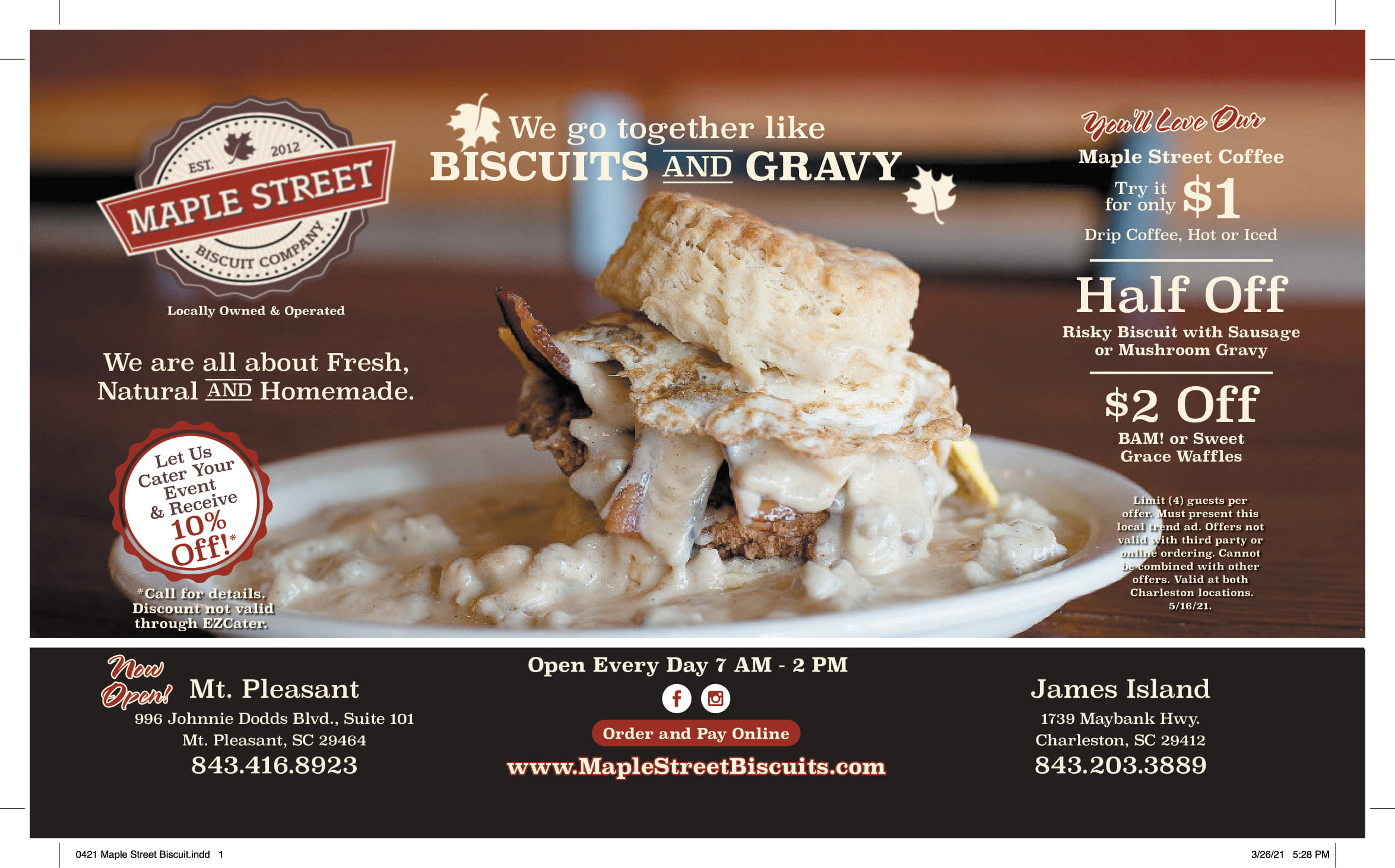 0421 Maple Street Biscuit 1