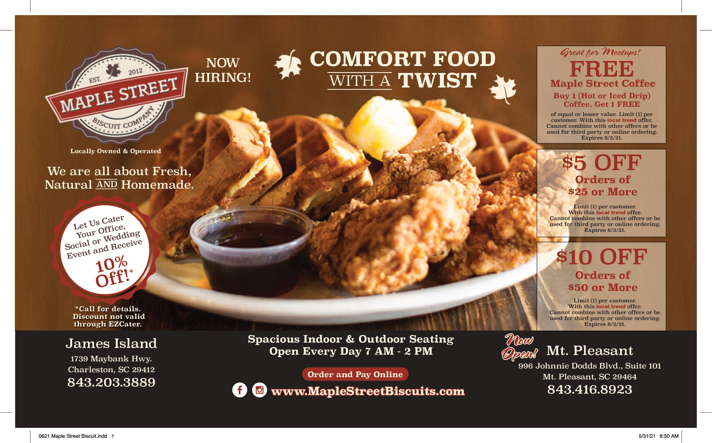 0621 Maple Street Biscuit 1