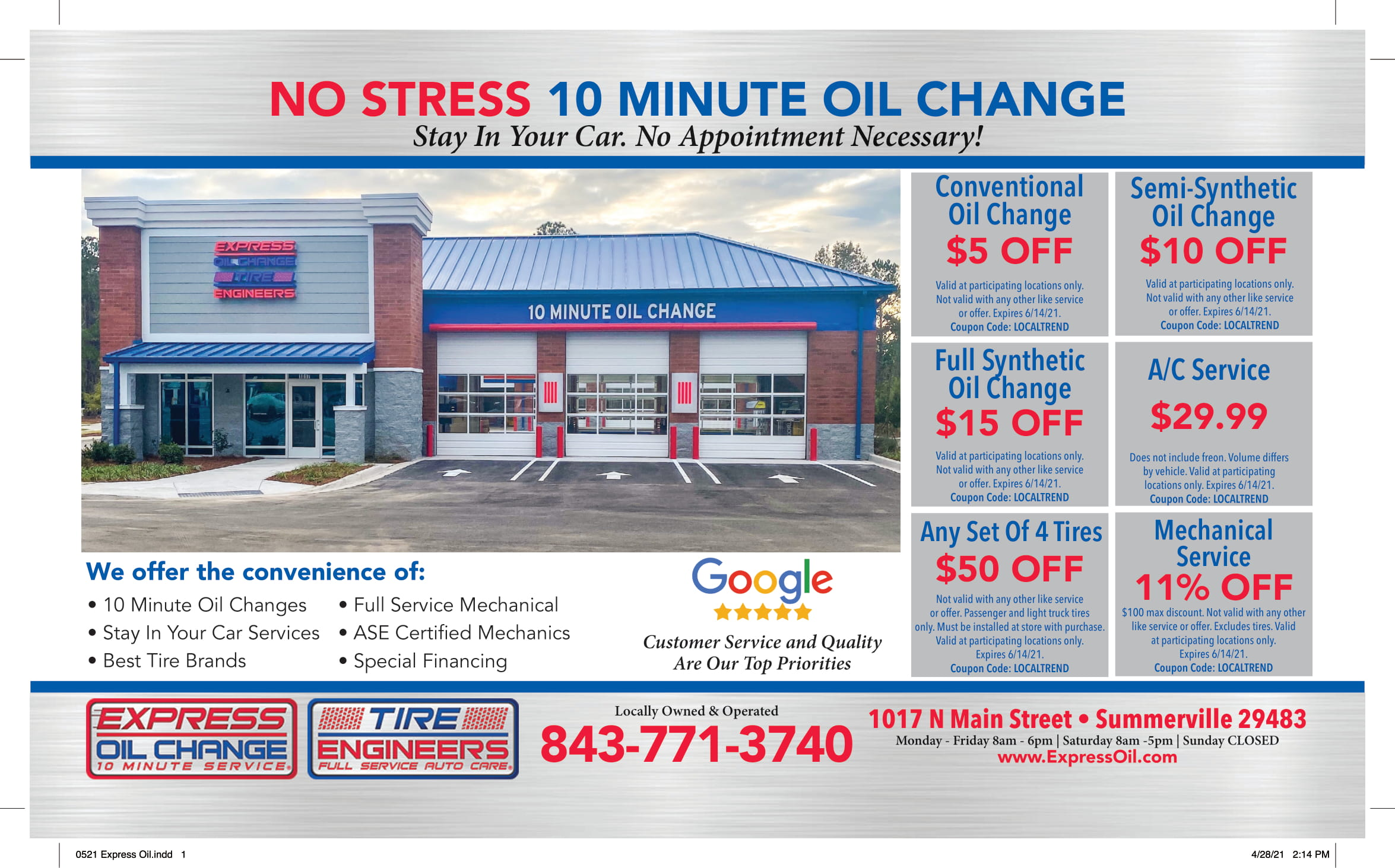 0521 Express Oil 1