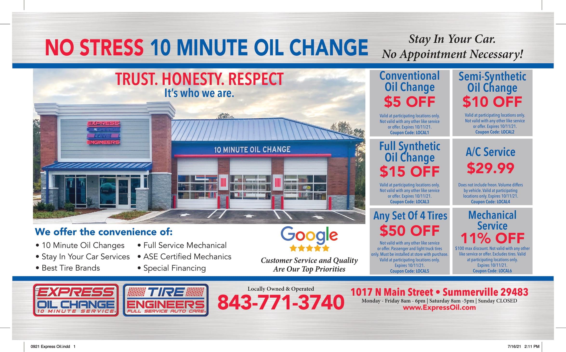 0921 Express Oil 1