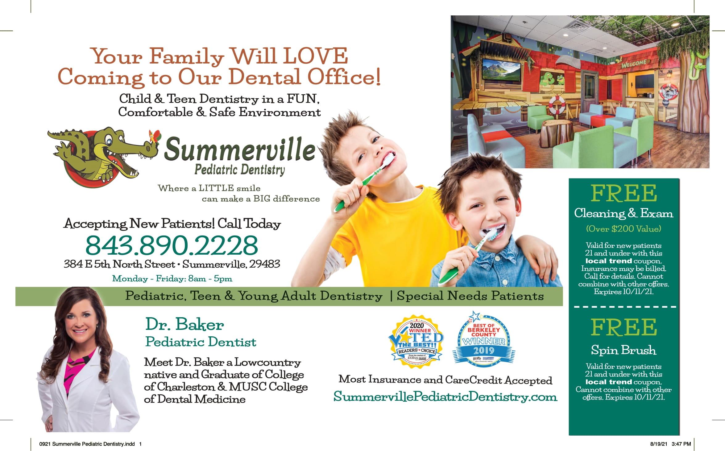 0921 Summerville Pediatric Dentistry 1
